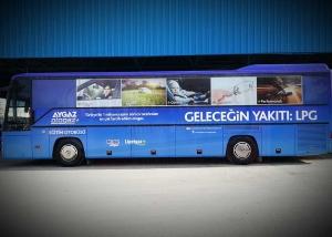 Otobüs Giydirme Öernekleri