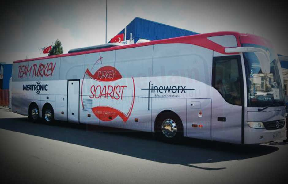 Otobüs Giydirme Örnekleri SOARIST