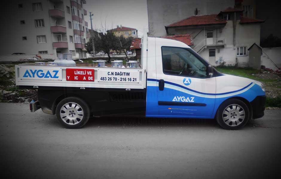 Aygaz_9 Bölgesel Araç Giydirme, 3M IJ 180 Cast