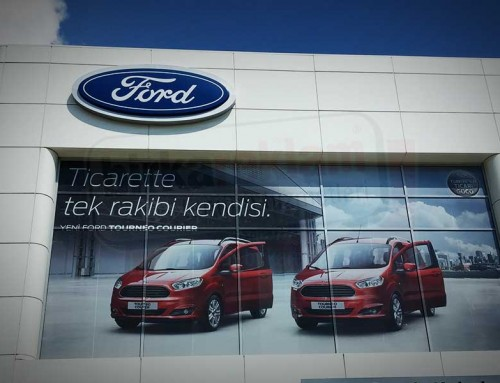 One Way Vision | FORD-OTOKOÇ