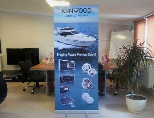 Roll up Banner | KENWOOD