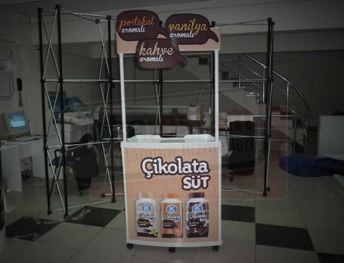 Tanıtım Standı | SEK Süt Çikolata