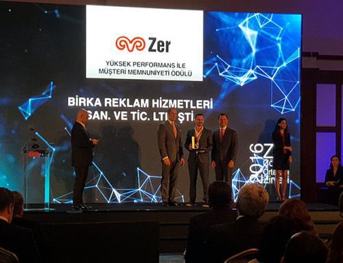 Zer Çözüm Ortakları Zirvesi 2016 Birka Reklam Ödül Töreni