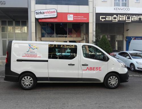 ABESE Mühendislik ve Yangın Söndürme Sistemleri Araç Giydirme