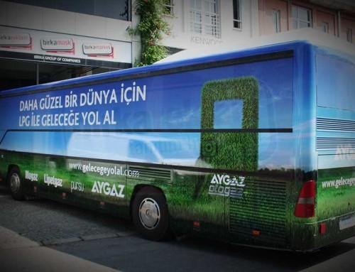 Otobüs Giydirme | AYGAZ