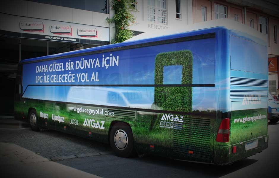 Otobüs Giydirme_1 3M IJ 180 Cast Folyo