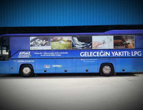 Otobüs Giydirme_1 | AYGAZ