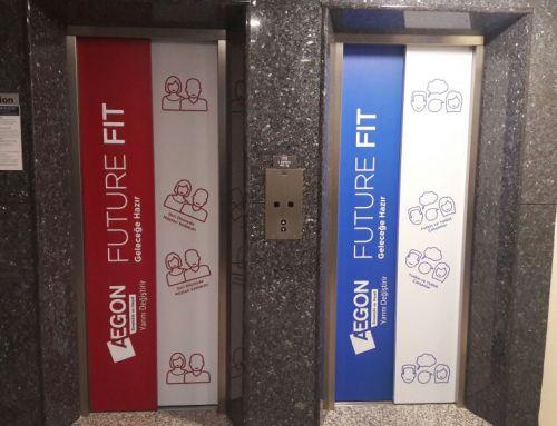 Aegon Emeklilik ve Hayat A.Ş Asansör Giydirme