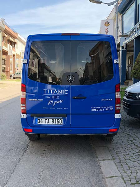 Titanic Otel_Araç Kaplama