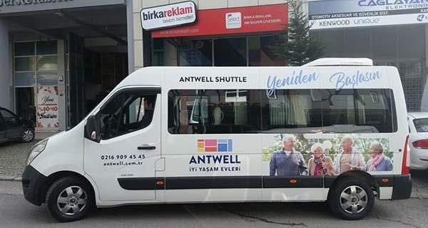 Araç Giydirme Antwell