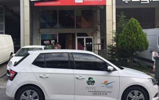 araç üstü kapı firma logosu