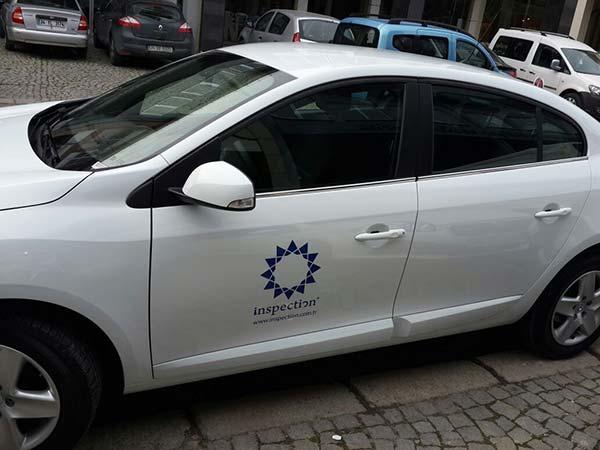 araç kapı logosu