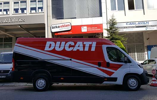Araç Giydirme Ducati Korlas