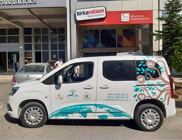 araç giydirme İstanbul